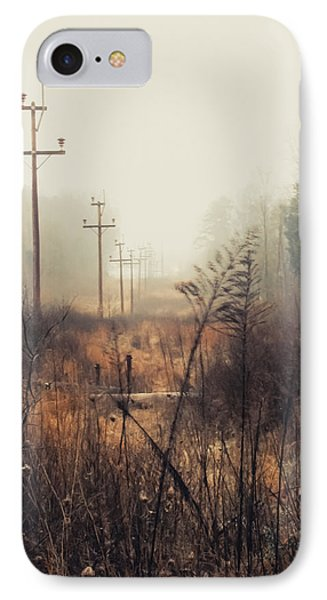 Walking The Lines IPhone Case by Jessica Brawley