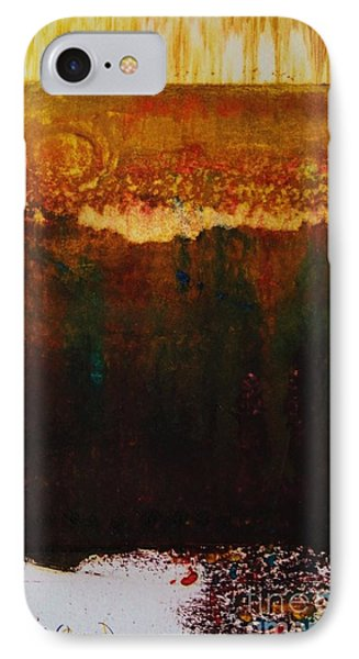 Walking Through The Fields Of Gold IPhone Case by Helena Bebirian