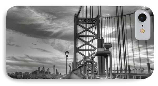 Walking To Philadelphia IPhone Case by Jennifer Ancker
