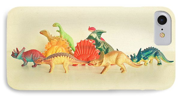 Walking With Dinosaurs IPhone 7 Case by Cassia Beck