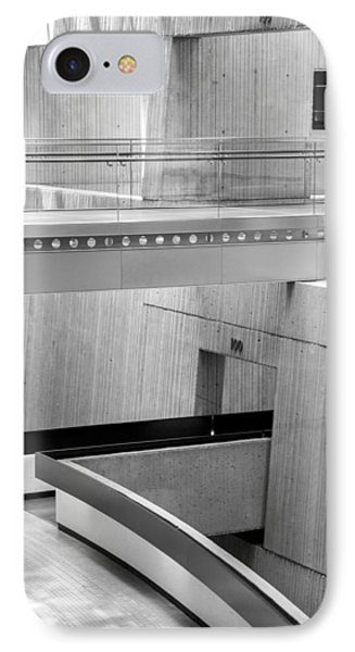 Walkway In The Renaissance Center IPhone Case