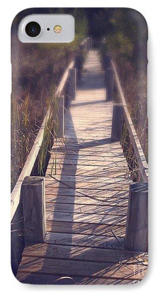 Walkway Through The Reeds Appalachian Trail Phone Case by Edward Fielding