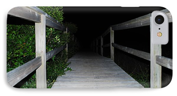 IPhone Case featuring the photograph Walkway To The Beach by Bob Sample