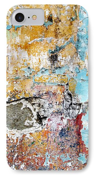 IPhone Case featuring the digital art Wall Abstract 124 by Maria Huntley