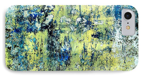 IPhone Case featuring the digital art Wall Abstract 27 by Maria Huntley