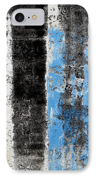 IPhone Case featuring the digital art Wall Abstract 34 by Maria Huntley