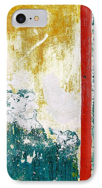 IPhone Case featuring the digital art Wall Abstract 71 by Maria Huntley