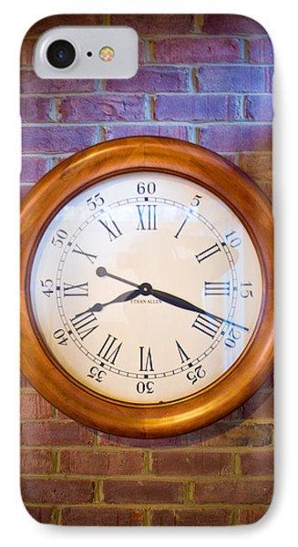 Wall Clock 1 Phone Case by Douglas Barnett