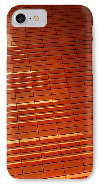 Wall In Shadow IPhone Case by Randall Weidner