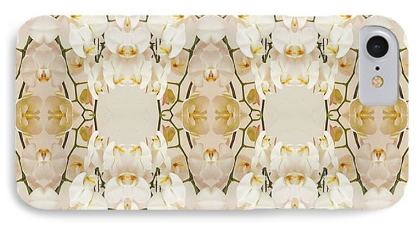 Wall Of Orchids Panorama IPhone Case