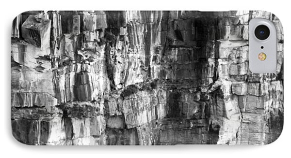 IPhone 7 Case featuring the photograph Wall Of Rock by Miroslava Jurcik