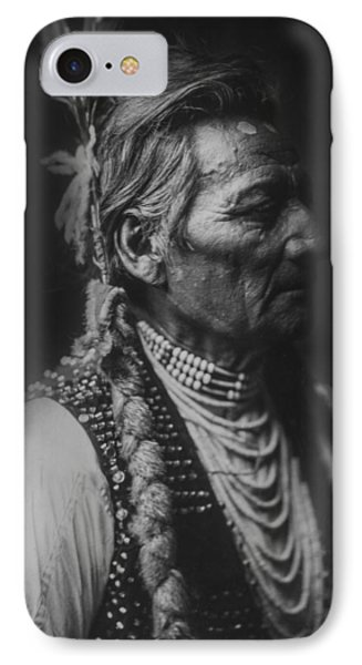 Walla Walla Indian Circa 1905 IPhone Case by Aged Pixel