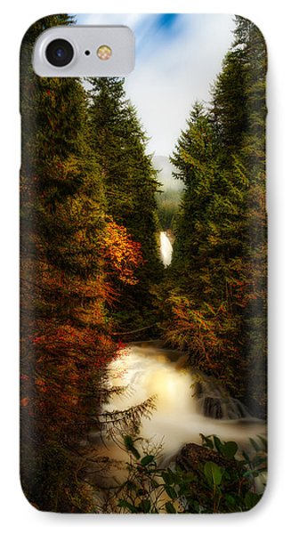 Wallace Fall North Fork IPhone Case by James Heckt