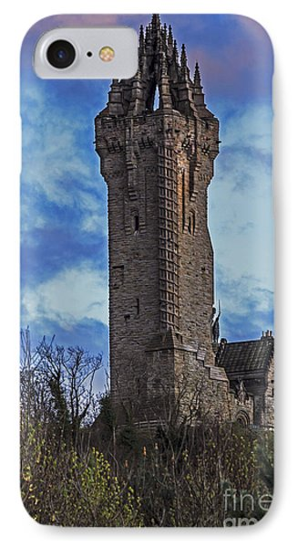 Wallace Monument During Sunset IPhone Case