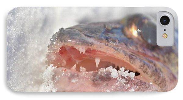 Walleye Teeth IPhone Case