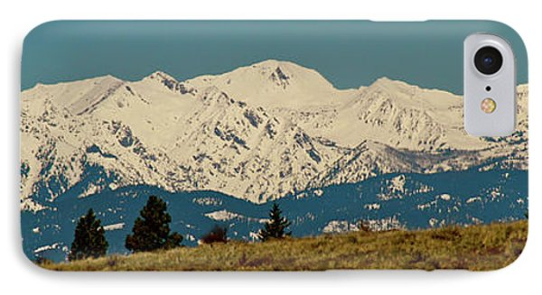 Wallowa Mountains Oregon IPhone Case by Ed  Riche