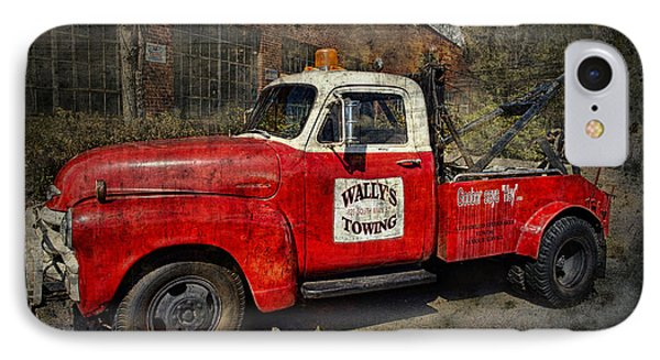 Wally's Towing IPhone Case by David Arment