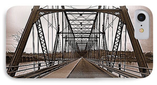 Walnut Street Bridge IPhone Case by Joseph Skompski