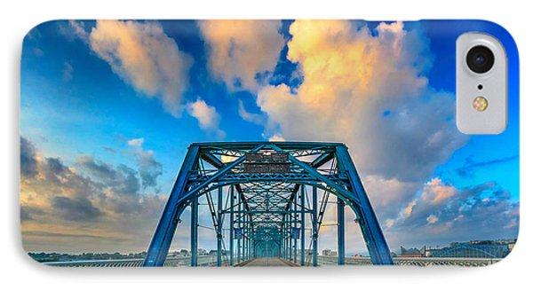 Walnut Street Walking Bridge IPhone Case