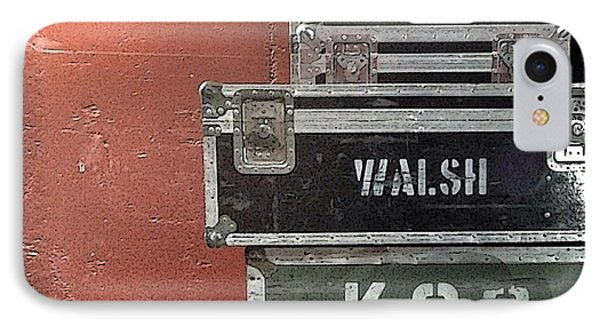 Walsh As In Joe Walsh IPhone Case by Marvin Blaine