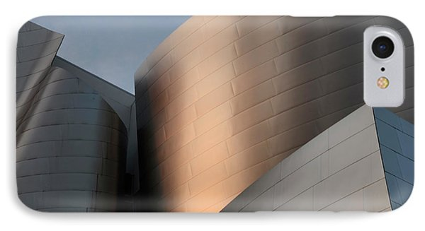 Walt Disney Concert Hall 15 Phone Case by Bob Christopher