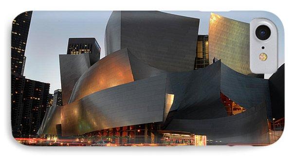 Walt Disney Concert Hall 21 IPhone Case by Bob Christopher