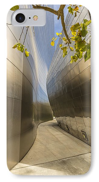 Walt Disney Concert Hall Scenery Phone Case by Angela A Stanton