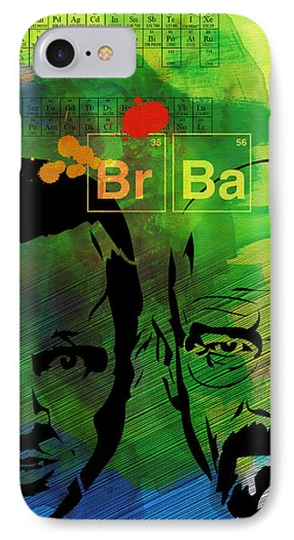 Walter And Jesse Watercolor IPhone Case by Naxart Studio