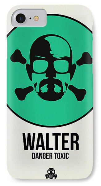Walter Poster 1 IPhone Case by Naxart Studio