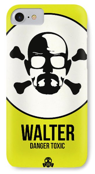 Walter Poster 2 IPhone Case by Naxart Studio