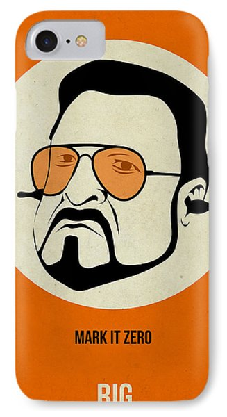 Walter Sobchak Poster IPhone Case