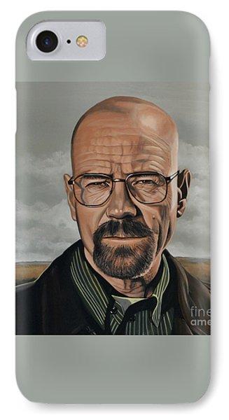 Walter White Phone Case by Paul Meijering
