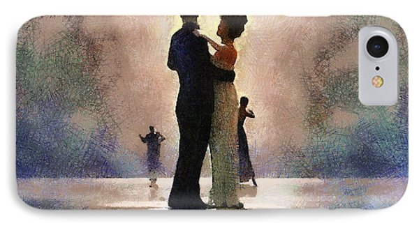 Waltz Like A Mirage IPhone Case by Georgi Dimitrov