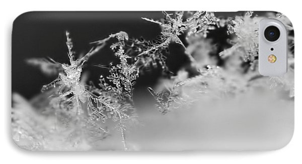 Waltz Of The Snowflakes IPhone Case by Rona Black