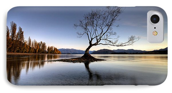 Wanaka - That Tree 2 IPhone Case by Brad Grove