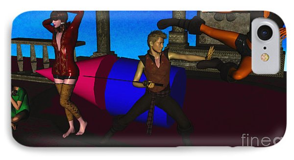 War And Peace In 3d IPhone Case