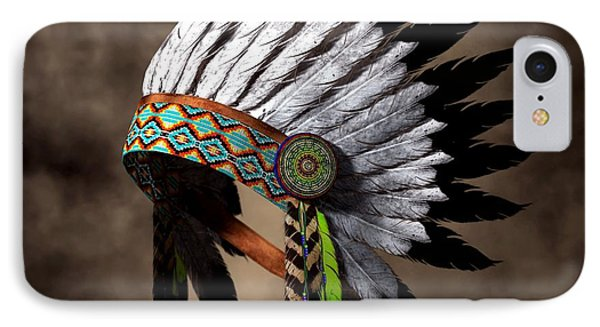 War Bonnet IPhone Case by Daniel Eskridge