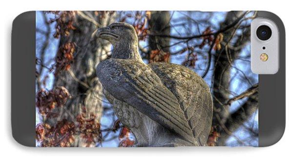 War Eagles - 28th Massachusetts Volunteer Infantry Rose Woods Near The Wheatfield Winter Gettysburg Phone Case by Michael Mazaika