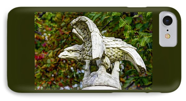 IPhone Case featuring the photograph War Eagles - Vermont Company F 1st U. S. Sharpshooters Pitzer Woods Gettysburg by Michael Mazaika