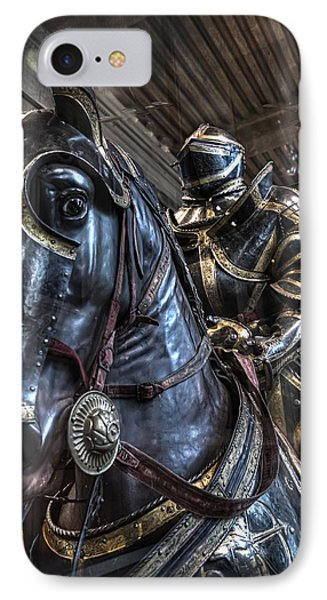 War Horse IPhone Case by Evie Carrier