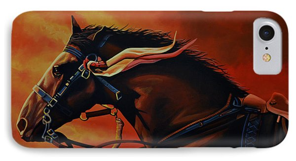 War Horse Joey  IPhone Case by Paul Meijering