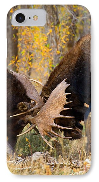 IPhone Case featuring the photograph War In The Woods by Aaron Whittemore
