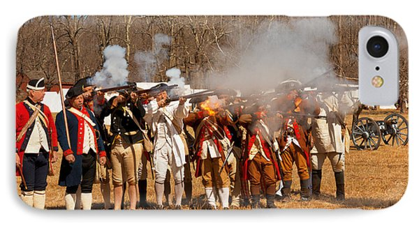 War - Revolutionary War - The Musket Drill Phone Case by Mike Savad