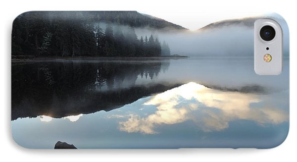IPhone Case featuring the photograph Ward Lake by Karen Horn
