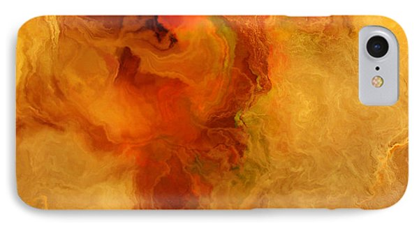 Warm Embrace - Abstract Art Phone Case by Jaison Cianelli