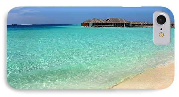 Warm Welcoming. Maldives Phone Case by Jenny Rainbow