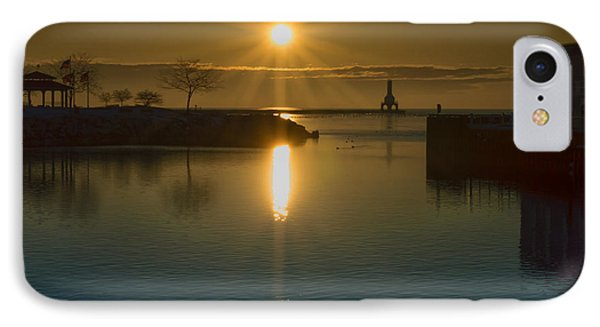 Warming Sun IPhone Case by James  Meyer