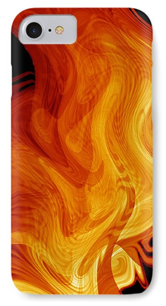 IPhone Case featuring the digital art Warmth by rd Erickson