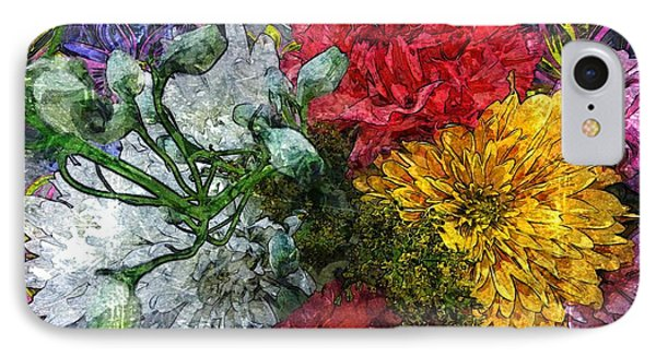 Warning Flowers At Large IPhone Case by Joseph J Stevens