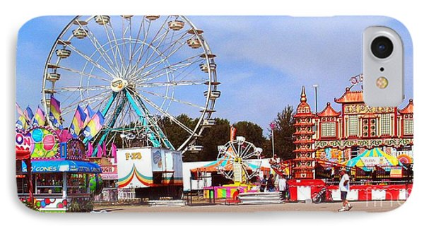Warren County A And L Fair Midway Phone Case by   Joe Beasley